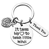 TGOOD Teacher Gifts Keychain Graduation Gifts 2021 Teacher Appreciation Gift Inspirational Teacher Gifts for Women on Teachers Day Birthday Graduation Season