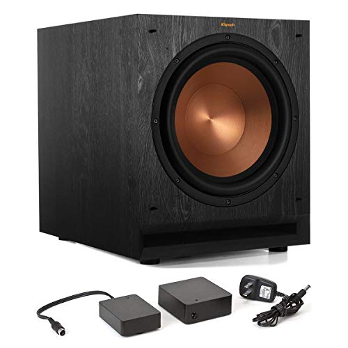 Klipsch SPL-120 12' Subwoofer (Ebony) with WA-2 Wireless Subwoofer Kit