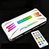 Nuttbuer 2021New RGB Controller 4Pin PWM 5V 3PIN ARGB Fan Ventilador DE ENFRIAMIENTO Smarter Control TEMPRANAL Inteligente para PC Case CHASIS (Color : White)