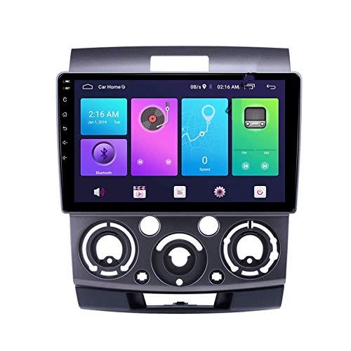 Navegación por satélite Android 10.0 Estéreo para automóvil, compatible con radio FORD RANGER 2006-2011 Navegación GPS Unidad principal de 9 pulgadas Reproductor multimedia MP5 Receptor de video Rast