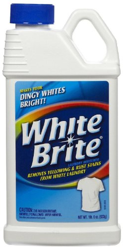OUT White Brite WB22N Laundry Whitener-1 Pound 6 Ounces.-Laundry Additive and Booster (Formerly Known as Yellow Designed to Brighten Whites and Remove Yellowing and Dinginess