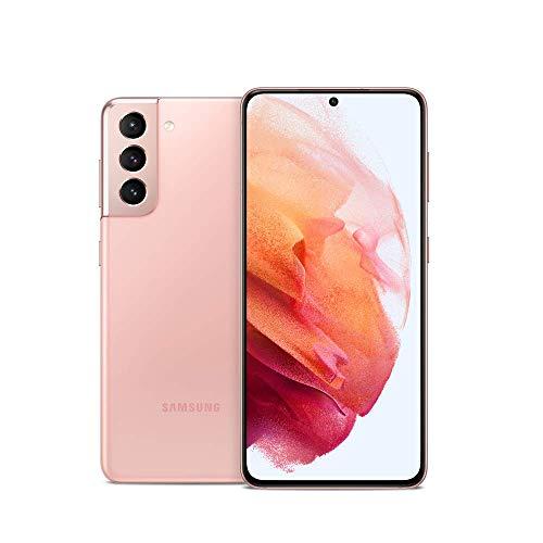 Samsung Galaxy S21 5G, US Version, 128GB, Phantom Pink - Unlocked (Renewed)