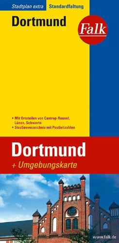 Falk Stadtplan Extra Standardfaltung Dortmund