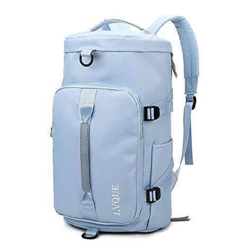 Mochila de la bolsa de la bolsa de gimnasia de las mujeres bolsas de aptitud para los zapatos para el hombro al aire libre Gimnasios Tas sac de deporte estudiante sportbag bolso de viaje diario