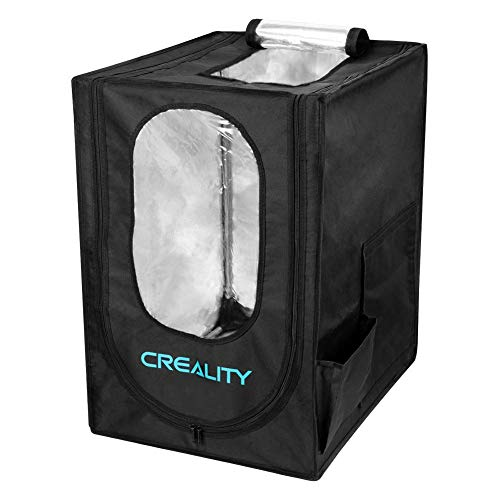 Creality 3D Printer Enclosure, Printer Covers Constant Temperature Soundproof Dustproof Heating Tent for 3D Printing Room for Ender 3 / Ender 3 Pro/Ender 3S / CR-100 / CR 20 (18.9'x23.6'x 28.4')