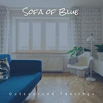 Sofa of Blue
