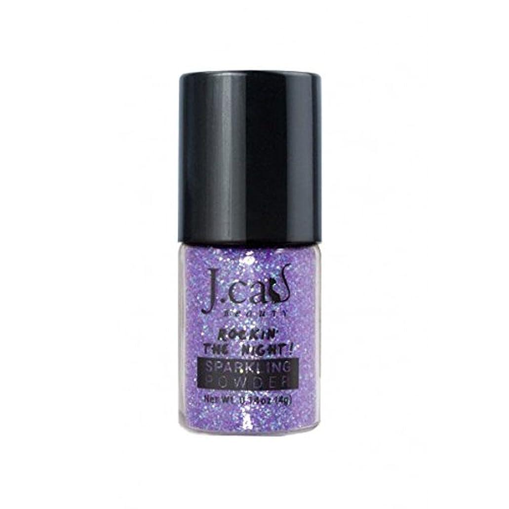 キモい悪党先のことを考える(3 Pack) J. CAT BEAUTY Sparkling Powder - Iris Indigo (並行輸入品)