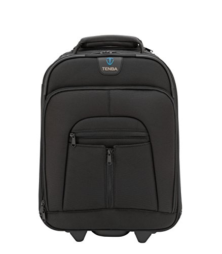 Tenba Roadie II Rolling Photo/Laptop Case Compact Black