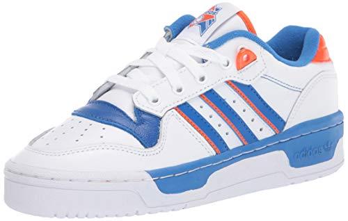 adidas Originals Rivalry - Zapatillas bajas para hombre, Blanco (Ftwr Blanco/Azul/Naranja), 36.5 EU