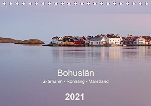 Bohuslän. Skärhamn - Rönnäng - Marstrand (Tischkalender 2021 DIN A5 quer): Idyllische Dörfer, zauberhafte Landschaften und eine traumhafte Schärenküste (Monatskalender, 14 Seiten )