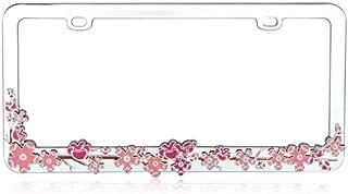 MYBAT Pink Cherry Blossom Tree Metal Frame for