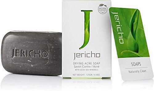 Jericho Dead Sea Jericho Dead Sea Black Mud Soap 125g 4.4oz (1x 125g)