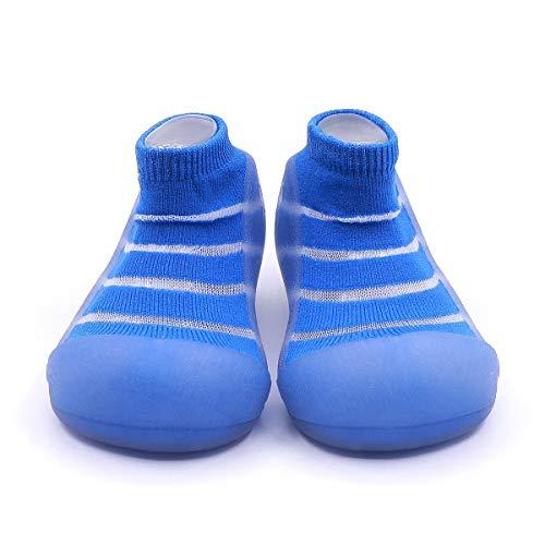 Attipas-Zapatos Primeros Pasos-Modelo See Through-Azul