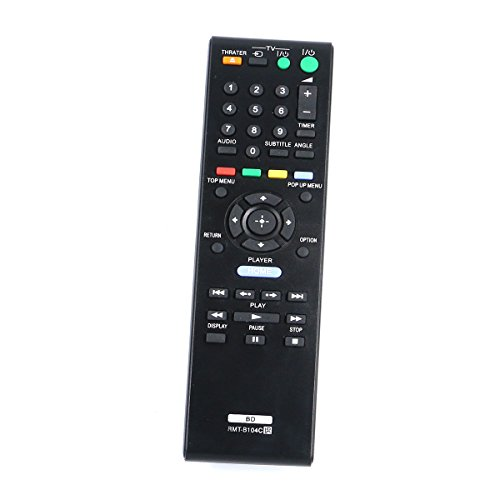 ZdalaMit RMT-B104C New Replaced Remote for Sony Blu-Ray Disc Player BDP-S360 BDP-S185 BDP-S190 BDP-S270 BDP-S300 BDP-S350 BDP-S370 BDP-S380 BDP-S470 BDP-S480 BDP-S560 BDP-S570 BDP-S580