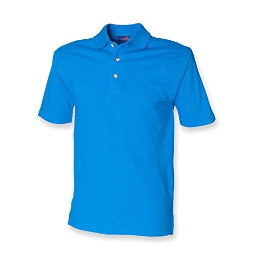 Henbury - Polo - - Polo - Col polo - Manches courtes Homme - Bleu - Vivid Blue - Xx-large