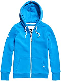 Superdry Women's LA Athletic Zip UP Hooded Jacket, Trady