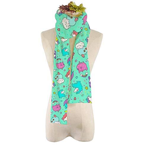 EVEYYWJ DIY Druck Druck Frauen Plüsch Schal Schal Cool And Beautiful Pattern Super komfortable Schals gedruckt Schal-HZWJ-8,21 * 184cm
