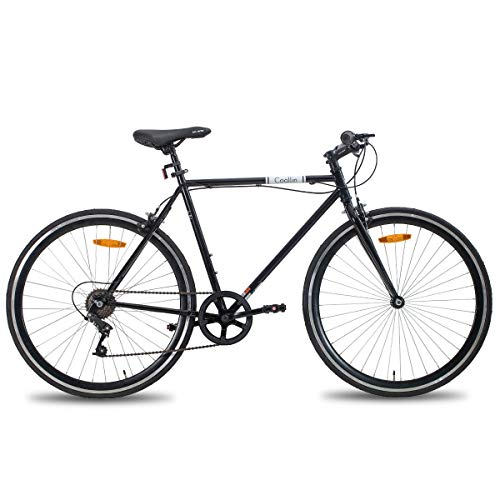 HH Hiland 700C Wheels 6 Speeds Road Hybrid Bike