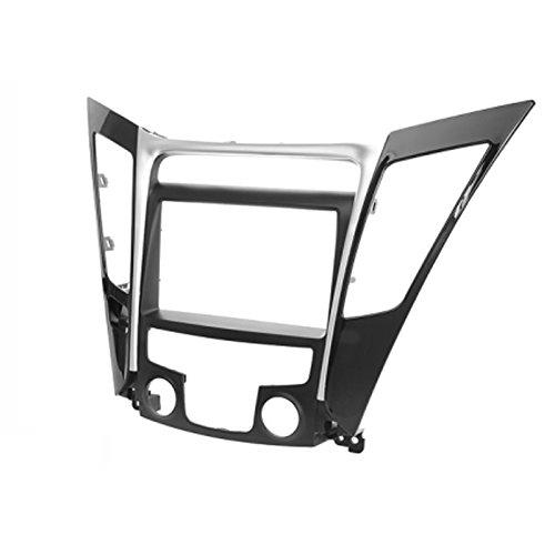 CARAV 11–140 Double DIN Radio stéréo adaptateur DVD Dash entourée d'installation Kit de garniture pour Hyundai Sonata, i-45 (YF) 2010–2014 manuel (climatisation) Façade d'autoradio/Façade d'autoradio avec 173 * * * * * * * * 98 mm et 178 * * * * * * * * 102 mm