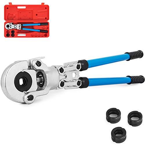 VEVOR Alicates Prensadores de Tuberías 16-32 mm, Alicates de Presión para Tubos Compuestos Longitud de Elevación 530-750 mm, Alicate Multicapa, para Tubos de Plástico de Aluminio, Tubos PEX, Tubos PB