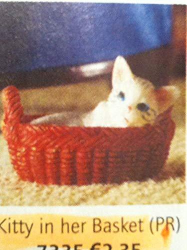 Dolls House Emporium Le chaton dans le panier (en plastique)