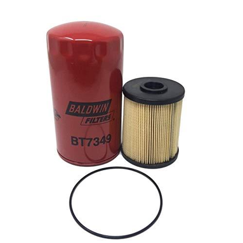 Set Baldwin PF7977 (Fuel) - BT7349 (Lube) Filters Dodge Ram 5.9 Diesel 2003-10