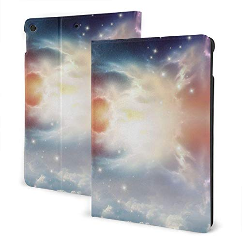 Abstract Colorful Case for iPad Air 3rd Gen 10.5' 2019 / iPad Pro 10.5' 2017 Multi-Angle Folio Stand Auto Sleep/Wake for iPad 10.5 Inch Tablet-Happy New Year-One Size