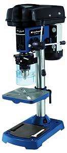 Einhell BT-BD 501 - Taladro de columna, 9 niveles, 280 - 2350 rpm, 500 W, 230 V, color negro y azul