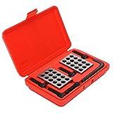 Bloques de precisión, métricos de precisión de 1-2-3, bloques de 0,0001, fresa a juego, 23 agujeros, bloques de precisión de 1-2-3, fresa de 23 agujeros, accesorios para fresadora