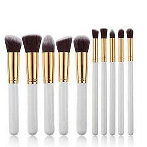 Topdo 10 pcs Professionnel Cosmétique Maquillage Brosses Ensemble/Kit Cosmétique Brosse Beauté Maquillage Brosse Maquillage Brosses Cosmétique Fondation