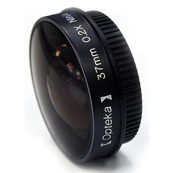 Opteka Platinum Series 0.2X Low-Profile Ninja Fisheye Lens for 30mm Camcorders