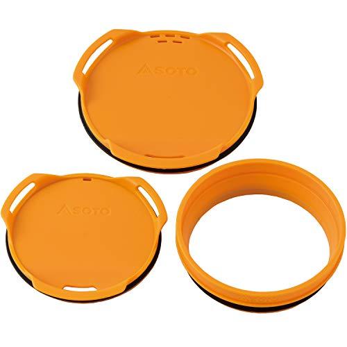 SOTO(ソト) サーモスタック カラーリッド&ジョイントセット オレンジ SOD-5211RG