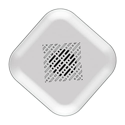 MERIGLARE Ambientador Silencioso USB Difusor de Aromaterapia para Dormitorio de Coche Blanco