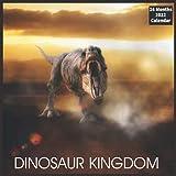 DINOSAUR KINGDOM Calendar 2022: Official Dinosaur Calendar 2022, 16 Month Calendar 2022