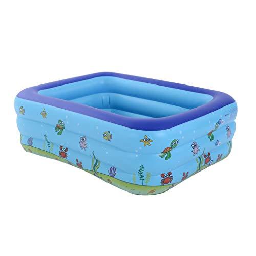 N/C Swim Center Family Großer aufblasbarer Pool Spiel Pool Spielzeug 130 * 90 * 50CM