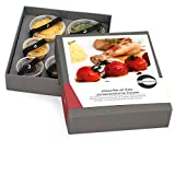 """Gewürze Geschenkset """"African-Wat mit Huhn"""" - Gewürzbox zum selbst Kochen als Geschenk - inkl. Kochanleitung und Rezept - mit exotischen und BIO Gewürzen"""
