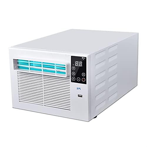 Jian E Raffreddatore d'Aria Condizionatore Portatile con Telecomando Piccolo Desktop Refrigerazione Aria Condizionata Ventola di Raffreddamento dell'Aria per Ufficio ,28.5x46x23cm (Taglia : 110V)
