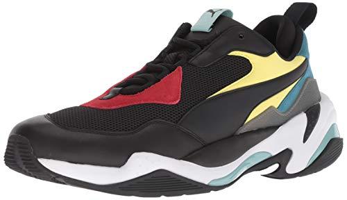 PUMA Men#039s Thunder Spectra Sneaker Black Black White 105 M US
