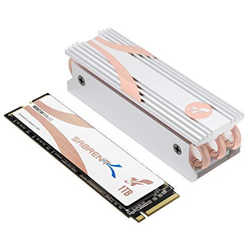Sabrent Rocket Q4 SSD Interno M.2 2280 NVMe PCIe 4.0 da 1TB | Unità di Memoria a Stato Solido dalle Massime Prestazioni con Dissipatore di Calore | R/W 4700/1800 MB/s (SB-RKTQ4-HTSS-1TB)