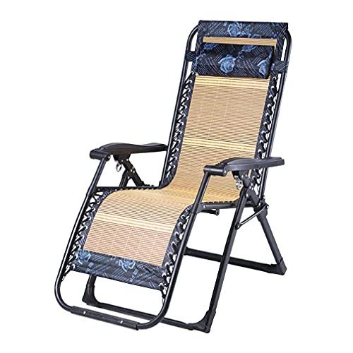 n.g. Wohnzimmerzubehör Garten Sonnenliege Faltbarer Lazy Lounge Chair Mit Kopfstütze Tasse und Handyhalter Zero Gravity Chair Bungee Chairs