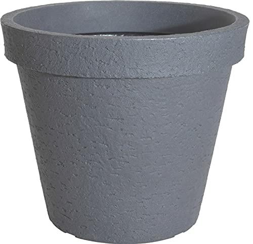 Extra Large Planters Stone Effect Grey Plant Pot 50cm Large Plant Pot