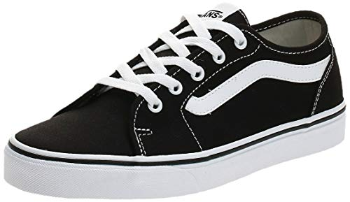Vans Damen Filmore Decon Sneaker, Schwarz ((Canvas) Black/True White 1Wx), 38 EU