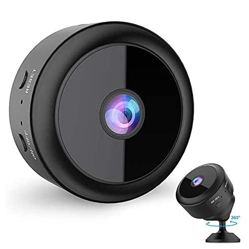 Full HD 1080P Caméra de Surveillance sans Fil avec Détection de Mouvement et Vision Nocturne Longue Durée de Vie de Caméra Interieur Exterieur