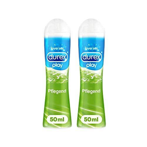 Durex Gleitgel sensitiv und pflegend mit Aloe Vera Durex Play Pflegend 2x 50ml in praktischer Dosierflasche