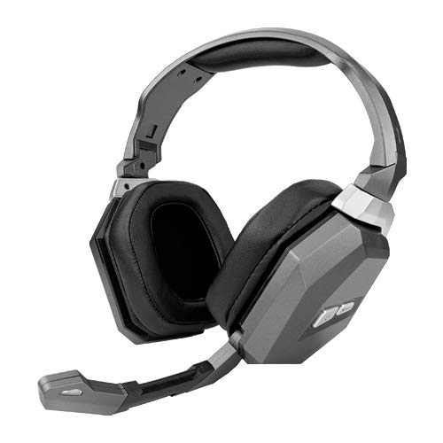 Wireless 2.4GHz Stereo Pro Gaming Headset Headphones w/Mic for PC PS4 PS3