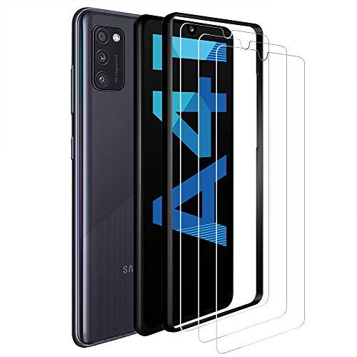 ANEWSIR 3 Pezzi Pellicola Protettiva per Samsung Galaxy A41 Vetro Temperato, 9H Durezza Ultra
