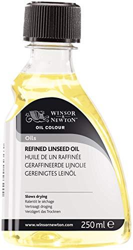Winsor & Newton Aditivo para óleo aceite de linaza refinado, 250ML