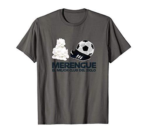Merengue El Mejor Club del Mundo Madrid Futbol Camiseta