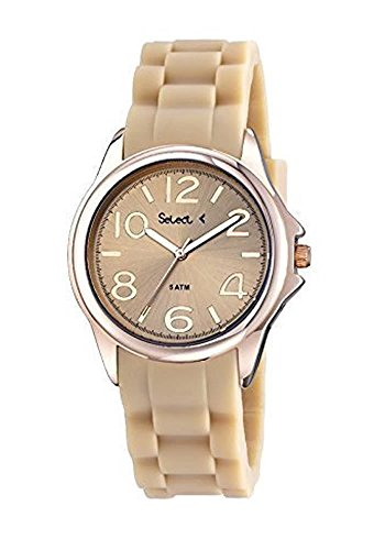 Reloj SELECT Mujer Dorado Rose TT100-12