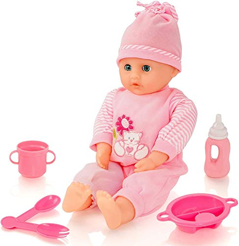 Molly Dolly Sweet Sounds Talking Baby Girl Doll Set